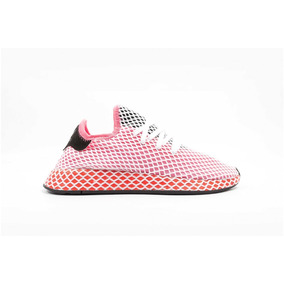 Tenis adidas Deerupt Runner W Malla Blanca No. Cq2910