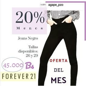 Pantalón Jeans For Ever 21 Original