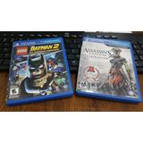 Ps Vita 2 Juegos Assassin´s Creed Iii Lib Y Lego Batman3 S.h