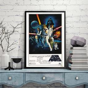 Poster 60x90 Lamina Afiche Star Wars Papel Fotografico+ Tubo
