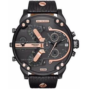 Relógio Diesel Mr. Daddy Cronógrafo Dz7350/0pn Original