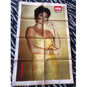 Poster Especial Duplo Da Revista Amiga 637 Suzana Vieira