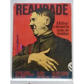 Revista Realidade Agosto 1973 Hitler A História Sem As Lenda