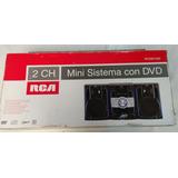 Estereo Minicomponente Rca Modelo Rcdm1020 Dvd,usb,cd,mp3