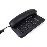 Telefono De Mesa Panacom Pa7550 Identif. De Llamada Negro