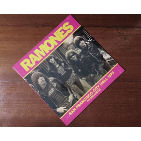 Ramones - San Francisco City Hall 1979 - Fm Broadcast Lp
