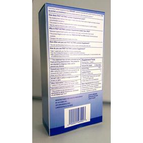Lactase Fast Act 60 Comp. 9000fcc - Melhor Enzima Do Mercado