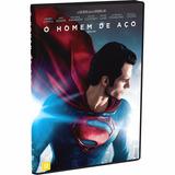 Dvd O Homem De Aço - Original Lacrado - Frete 12,00