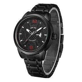 Reloj Weide Solar Watch For Men Analog Quartz Watches Date D