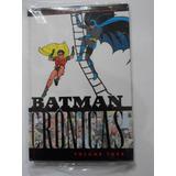 Batman Crônicas Volume 3 Panini Lacrado