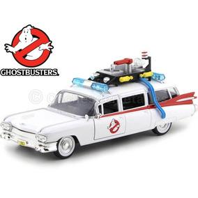 Cazafantasmas Ecto-1 Ghostbusters Jada Toys 1:24 Metal Cast
