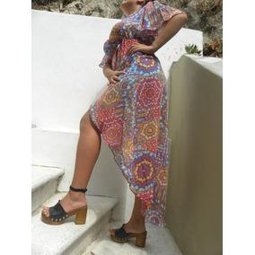 Vestidos Sexy Pareo Moda Para La Playa.comprado En Italia