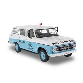 Miniatura Chevrolet Veraneio Polícia Militar Rio De Janeiro