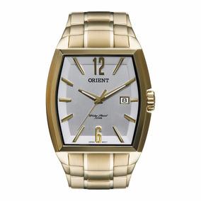 Relógio Orient Masculino Social Ggss1014 S2kx Dourado