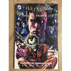Hq Dc Comics Batman Caos Em Arkham City Volume 3 - Lacrado!!