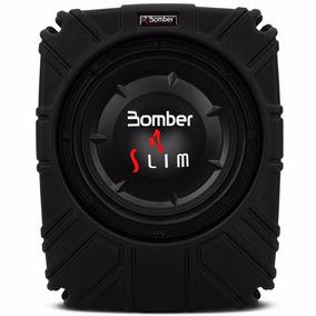 Subwoofer Bomber Slim 10 Pol 200w Rms 4 Ohms Selada Original