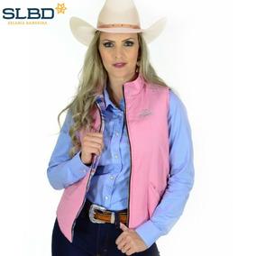 Colete De Nylon Radade Country Feminino Rosa d04b1d14ae1