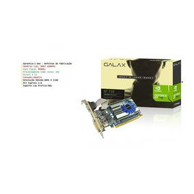 Placa De Vídeo 1gb 3 Monitores 1080p Directx 12 Low Profile