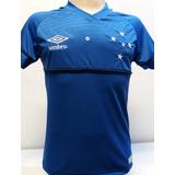 Camisa Cruzeiro Masculina 2018 Manto Azul E Branco ca4121fe9d1