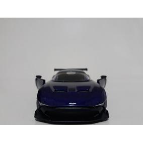 Miniatura Aston Martin Vulcan Roxo Kinsmart 1/38