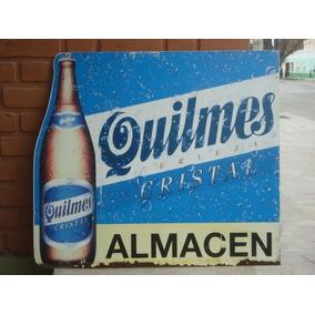 Cerveza Quilmes Antiguo Cartel Almacén