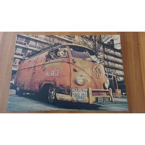 Poster Colecionador Surfe Pray Surf Kombi Vintage - 42x30cm