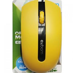 Mouse Usb Com Fio Para Pc Computador E Note Notebook Exbom