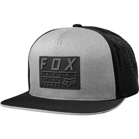89abce45f097e Gorra Plana Fox Redplate Tech Snapback Regulable Marelli