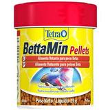 Alimento Para Peixe Tetra Peixe Bettamin Pellets - 29g