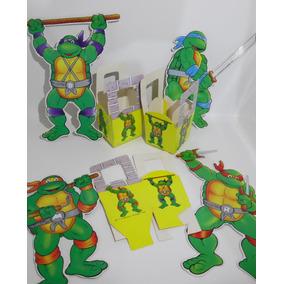 626864e508d6c Juguetes Tortugas Ninja Vintage Disfraces Y Sombreros en Mercado ...