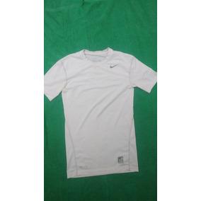 Camisa Compressão Nike Pro Combat Branca Tam. P c8d916822696a