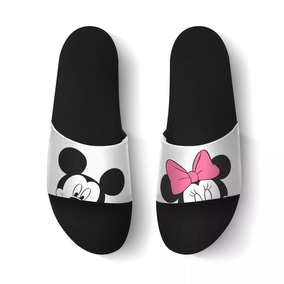 Chinelo Slide Beach Feminina Miney Mickey Exclusivo!