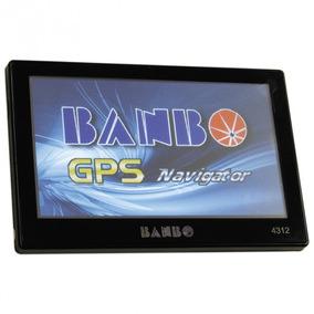 Gps Navegador Orbe Banbo 4,3 Polegadas Modelo 4312 Preto