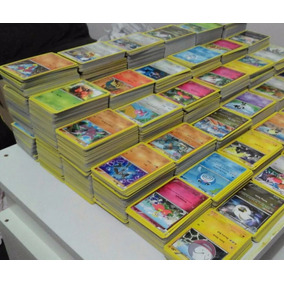 Pokemon Mega Pacote Com 200 Cartas Comuns Incomuns E Raras