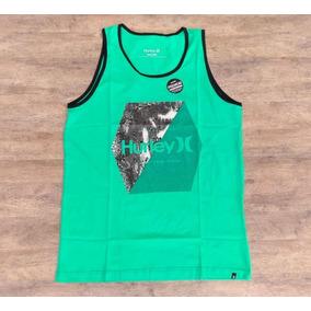 16d50ce9d7b24 Camiseta Regata Hurley Watercolor Surfe Masculina