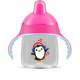 Copo Philips Pinguim 260ml Rosa