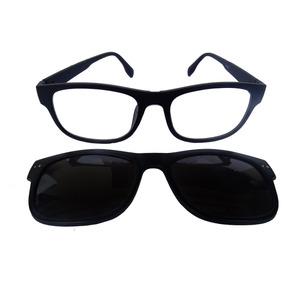 Armação Óculos Titanio Clip On - Óculos no Mercado Livre Brasil 94df959a79