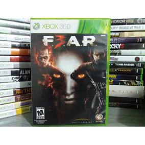 Jogo Fear 3 Xbox 360 Original Mídia Física Legendado Em Pt