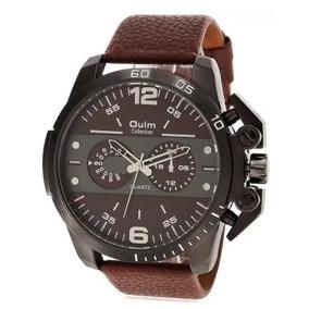bcf7633320c Relogio Oulm 3548 De Luxo - Relógios De Pulso no Mercado Livre Brasil