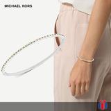 Michael Kors Brazalete Muse Plata Y Dorado - Original Nuevo