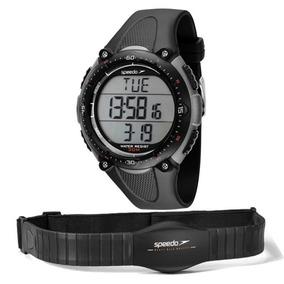 Relógio Speedo Monitor Cardíaco Preto/cinza 80565g0epnp2