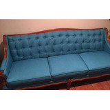 Sillón Vintage Color Azul Turquesa Negociable