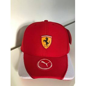 Bone Puma Ferrari Vermelho Felipe Massa F1 Novo Oficial - Bonés para ... 0993fea72c0