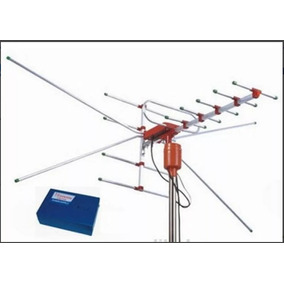 Antena Tv Digital Amplificada Uhf / Vhf Booster 25db Externa