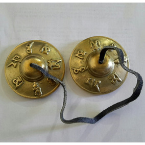 Sino Manjira, Tingsha, Címbalo Sino Tibetano 6.8cm