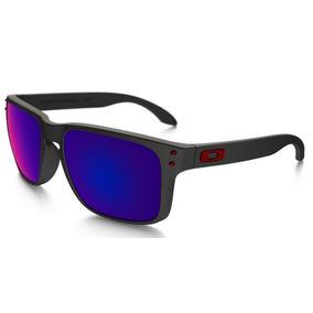 bc0dbb75acb8f Lentes Oakley Holbrook Red Iridium De Sol - Óculos no Mercado Livre ...