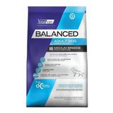 Alimento Vitalcan Balanced Perro Adulto Raza Mediana 20kg
