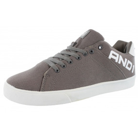 Tenis And1 Fudamental Gris Basketball Casual