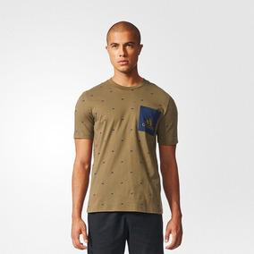 Camiseta adidas Remera Essentials Graphic De Algodón Hombre