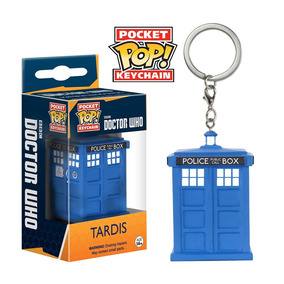 Pocket Pop Funko Tardis (dr Who) Chaveiro Original